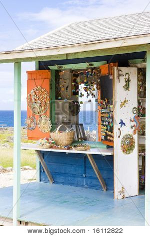 souvenir shop, North Point, Barbados