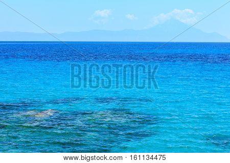 Aegean Sea (chalkidiki, Greece).