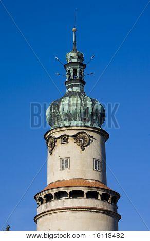 chateau tower, Nove Mesto nad Metuji, Czech Republic