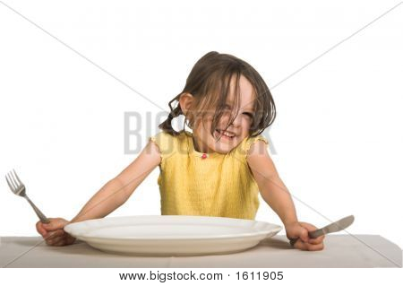 Girl With Plate3