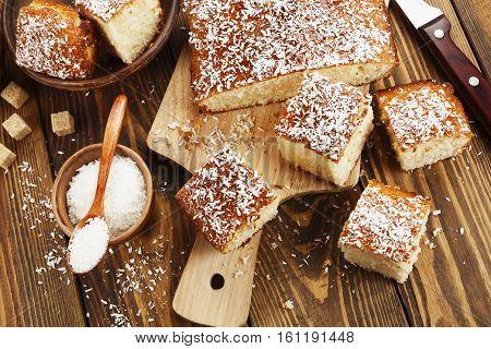 Arabic Semolina Pie