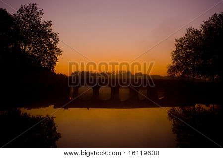 bridge, Chambord, Loire-et-Cher, Centre, France