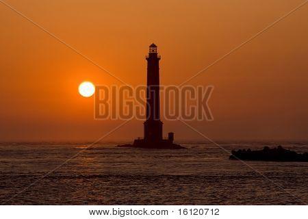 lighthouse, Cap de la Hague, Normandy, France
