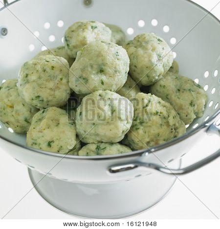herb dumplings