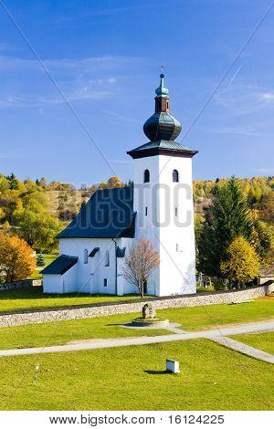 Kremnicke bane - geographica centro de Europa, Eslovaquia