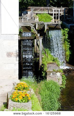 water mill, Ratiborice, Czech Republic