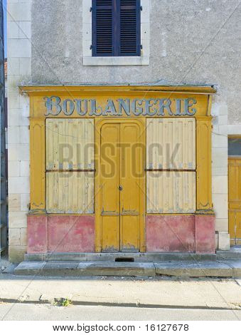 bakery in La Celle, Centre, France