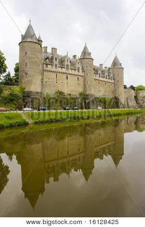 Chateau Josselin, Brittany, France