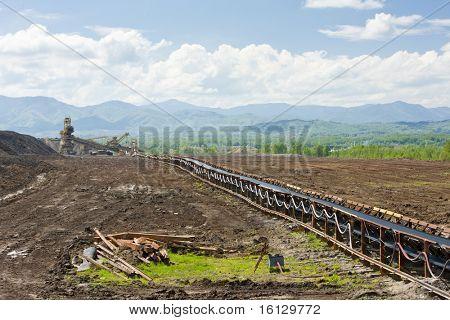industry in Tuzla region, Bosnia and Hercegovina
