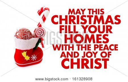 May This Christmas Fill Your Homes With the Peace and Joy of Christ