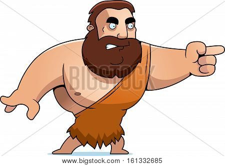 Cartoon Barbarian Angry
