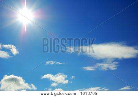Céu com sol
