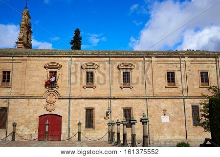 Universidad de Salamanca University in Spain exterior image shot from public floor