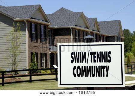 Swim/Tennis Community