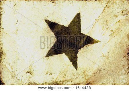 Grunge Star Texture