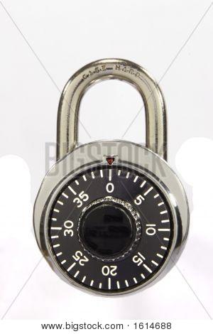 Locked Pad Lock