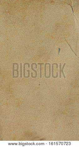 Brown Paper Texture Background - Vertical