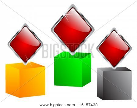Casino elements - rhombus