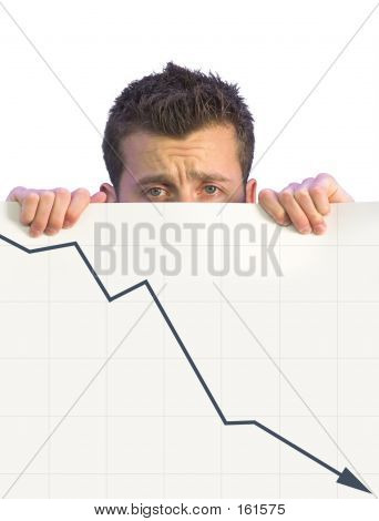 Dissapointed Business Man - Graph 1