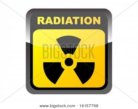Botón de radiación