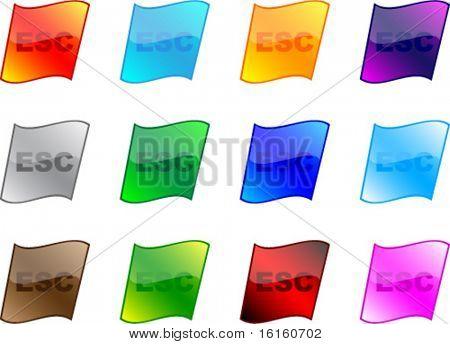 ESC buttons different colors