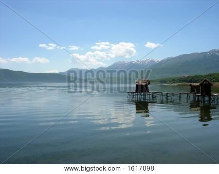 Landscape, Prespa Lake,Macedonia