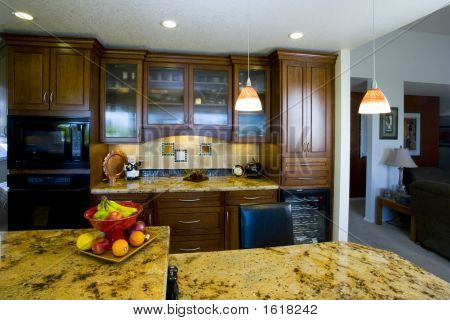 Recently Remodeled Kitchen