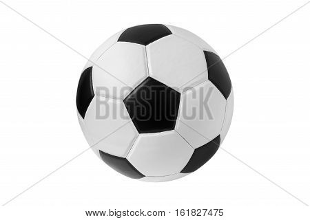 Soccer Ball Closeup Image. Soccer Ball On Isolated.