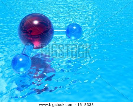 Pool Of H2O - Red