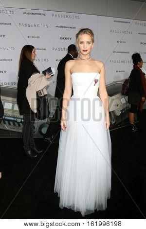 LOS ANGELES - DEC 14:  Jennifer Lawrence at the