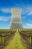 Cooling Tower Of The No Closed Rancho Seca Nuclear Power Station