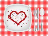 Постер, плакат: Любовь ужин