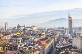 Hdr Turin View poster