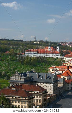Prague. Beautiful view