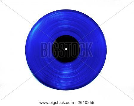 blau-Vinyl-Lp LP