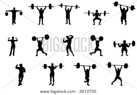 Levantadores de pesas