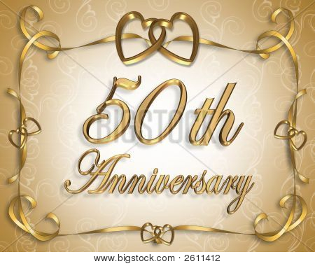 Golden Wedding Anniversary 50Th