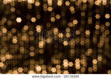 beauty blur yellow stars background