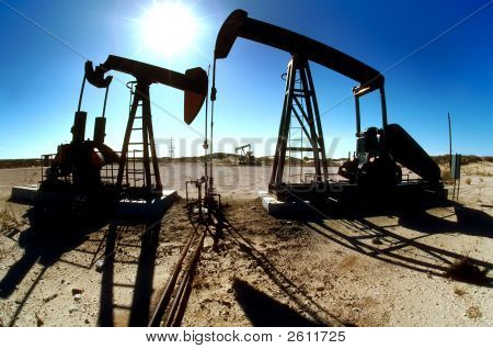 Oilfield Pumping Jacks