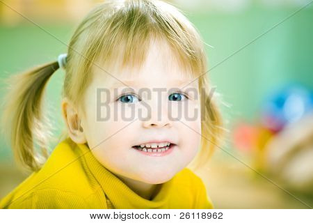 beauty baby portrait