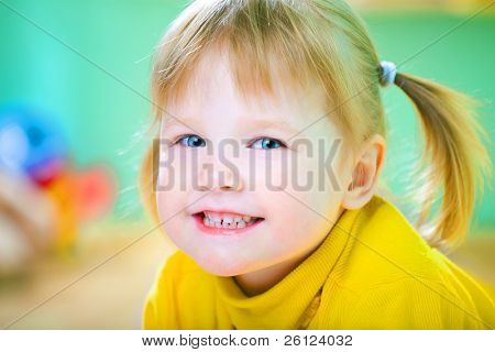 beauty child portrait