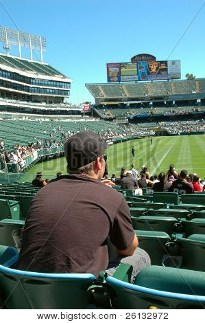 Fan Appreciation Day for the Oakland Raiders, Oakland, California, August 2006