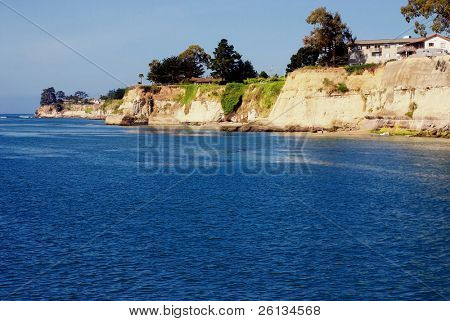 Point along the California Coast near Capitola
