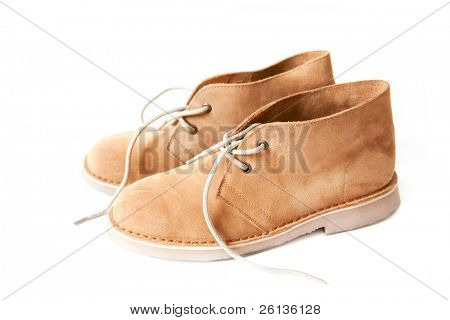 suede desert boots brown