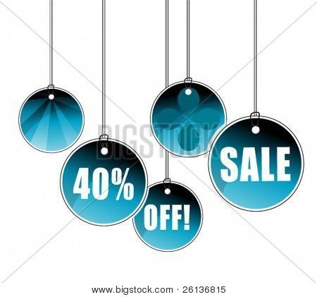 Sale Signs and Icons - Hanging