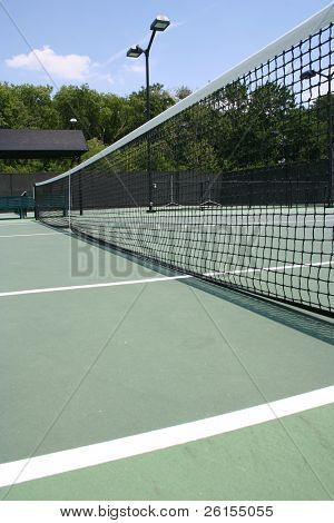 Tennis court net