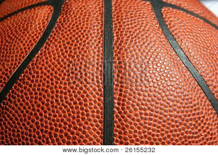 Lines of a basketball
