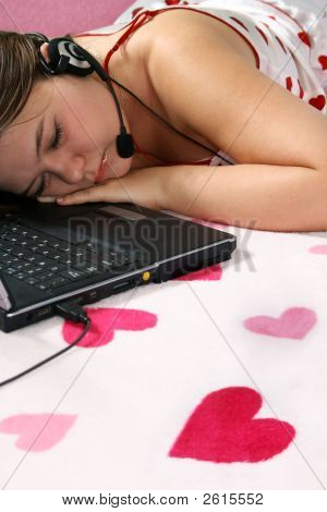 Tired Romantic Girl