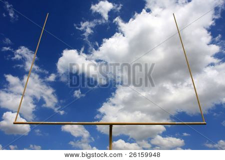 American football uprights