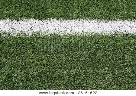 Yard Line of a Football Field with room for copy